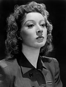 Garson Framed Prints - Greer Garson Framed Print by Everett