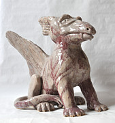 London Sculpture Prints - Griffin Print by Stephen Frank