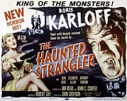1950s Movies Photo Posters - Grip Of The Strangler, Aka The Haunted Poster by Everett