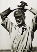 Philadelphia Phillies Metal Prints - Grover Cleveland Alexander Metal Print by Granger
