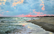 Gulf Framed Prints - Gulf Shore Framed Print by Kristin Elmquist