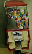 Ball Art - Gum ball Machine by Tommervik