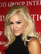 Gwen Stefani Metal Prints - Gwen Stefani At Arrivals For Fashion Metal Print by Everett
