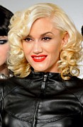 Gwen Stefani Metal Prints - Gwen Stefani In Attendance For L.a.m.b Metal Print by Everett
