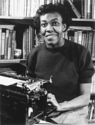 Pulitzer Framed Prints - Gwendolyn Brooks Framed Print by Granger