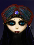 Gypsy Girl Print by J Kinion