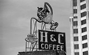 Pour Prints - H C Coffee Print by Frank Romeo