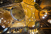 Aya Sofya Photos - Hagia Sophia Interior by Artur Bogacki
