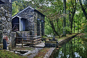 Historic Mill Framed Prints - Hagley Museum Framed Print by John Greim