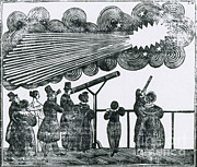 1835 Photos - Halleys Comet, 1835 by Science Source