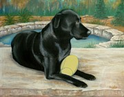 Lab Pastels - Hallie by Pat Neely