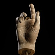 Human Anatomy Art - Hand Of Dummy by Bernard Jaubert