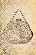 Old Lady Prints - Handbag Print by Joana Kruse