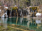 Amazing Posters - Hanging Lake in Glenwood Canyon Colorado Poster by Brendan Reals