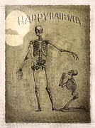 Ghostly Prints - Happy Halloween Print by Jeff Burgess