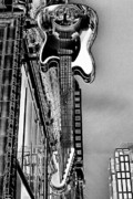 Hard Rock Cafe Building Prints - Hard Rock Cafe Seattle Print by David Patterson