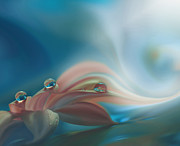Juliana Nan Prints - Harmony of Feelings... Print by Juliana Nan