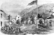 Captain America Framed Prints - Harpers Ferry, 1859 Framed Print by Granger
