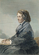 Abolition Metal Prints - Harriet Beecher Stowe Metal Print by Granger