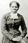 Female Spy Framed Prints - Harriet Tubman, American Abolitionist Framed Print by Photo Researchers
