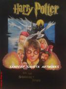 George Harrison Painting Originals - Harry Potter by Sandeep Kumar Sahota