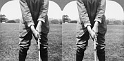 Vardon Framed Prints - Harry Vardon (1870-1937) Framed Print by Granger