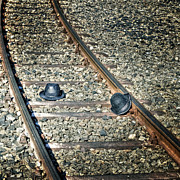 Train Tracks Photo Posters - Hats Poster by Joana Kruse