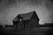 Farm Framed Prints Photos - Haunted by Larysa Luciw