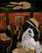 Brandy Digital Art Posters - Havanese Poster by Laura Toth