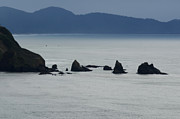 Haystack Rocks Prints - Haystack Rocks Print by Bob Christopher