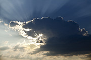 Clouds Art - Heavens Light by Andrew Soundarajan