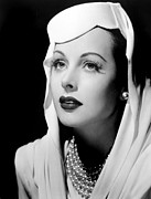 Hedy Framed Prints - Hedy Lamarr Framed Print by Everett