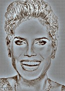 Mccombie Mixed Media - Heidi Klum in 2010 by J McCombie