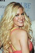 Spencer Prints - Heidi Montag At Arrivals For Heidi Print by Everett