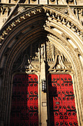Pittsburgh Art - Heinz Chapel Doors by Thomas R Fletcher