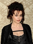 Four Seasons Hotel Framed Prints - Helena Bonham Carter At Arrivals Framed Print by Everett