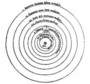 Heavenly Body Art - Heliocentric Universe, Copernicus, 1543 by Science Source
