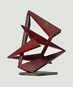 Steel Sculpture Sculptures - Helios by John Neumann