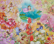 Propose Paintings - Her Garden by Yuko