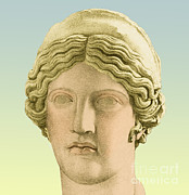 Hera Posters - Hera, Greek Goddess Poster by Photo Researchers