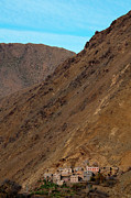 Mountain Valley Framed Prints - High Atlas Framed Print by Marion Galt
