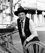 Colbw Framed Prints - High Noon, Gary Cooper, 1952 Framed Print by Everett