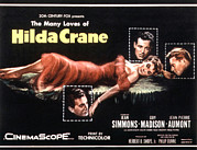 1956 Movies Framed Prints - Hilda Crane, Jean Simmons, Guy Madison Framed Print by Everett