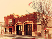 Small Towns Prints - Historic Niles District in California Near Fremont . Niles Fire Station Number 2 . 7D10732 Print by Wingsdomain Art and Photography