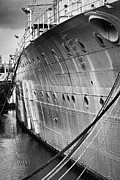 Hms Framed Prints - HMS Caroline Framed Print by Chris Cardwell
