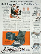 Housewife Prints - Home Appliance Ad, 1926 Print by Granger