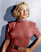 Wide Belt Prints - Home Town Story, Marilyn Monroe, 1951 Print by Everett