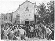 Punishment Prints - Homestead Strike, 1892 Print by Granger