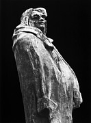 Statue Portrait Photo Prints - HONORE de BALZAC (1799-1850) Print by Granger