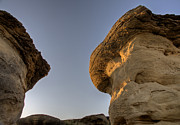 Park Scene Digital Art - Hoodoo Badlands Alberta Canada by Mark Duffy